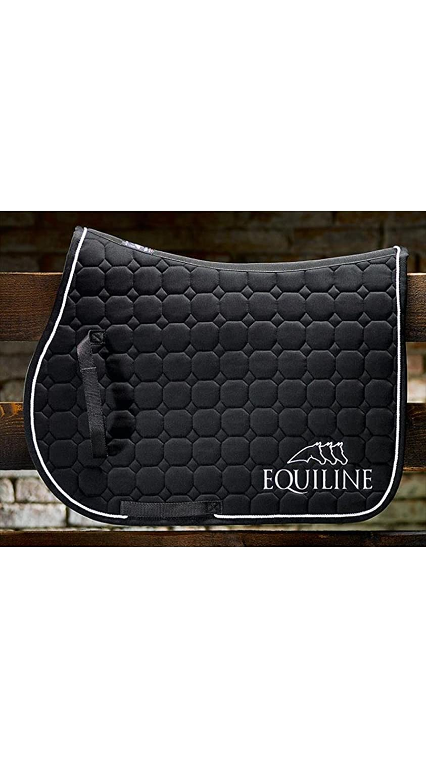 Outline Equiline Saddle Cloth Dressage Black