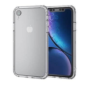 156b009044 エレコム iPhone XR ケース 衝撃吸収 TRANTECT ハイブリッド バンパー 【iPhoneを美しく守る。】