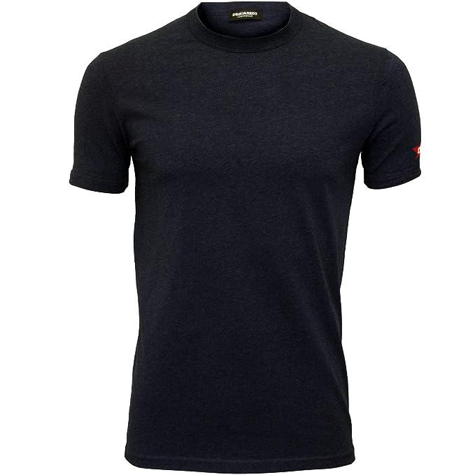 91d5551688a DSquared2 Maple Leaf Logo Crew-Neck Men s T-Shirt