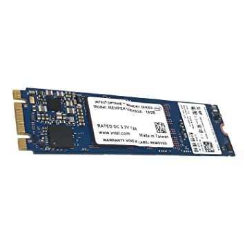 Intel Optane Memory Module 16GB M 2 80mm PCIe 3 0 20nm 3D Xpoint
