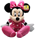 Disney Minnie Mouse Plush Pink Doll Toy 25""