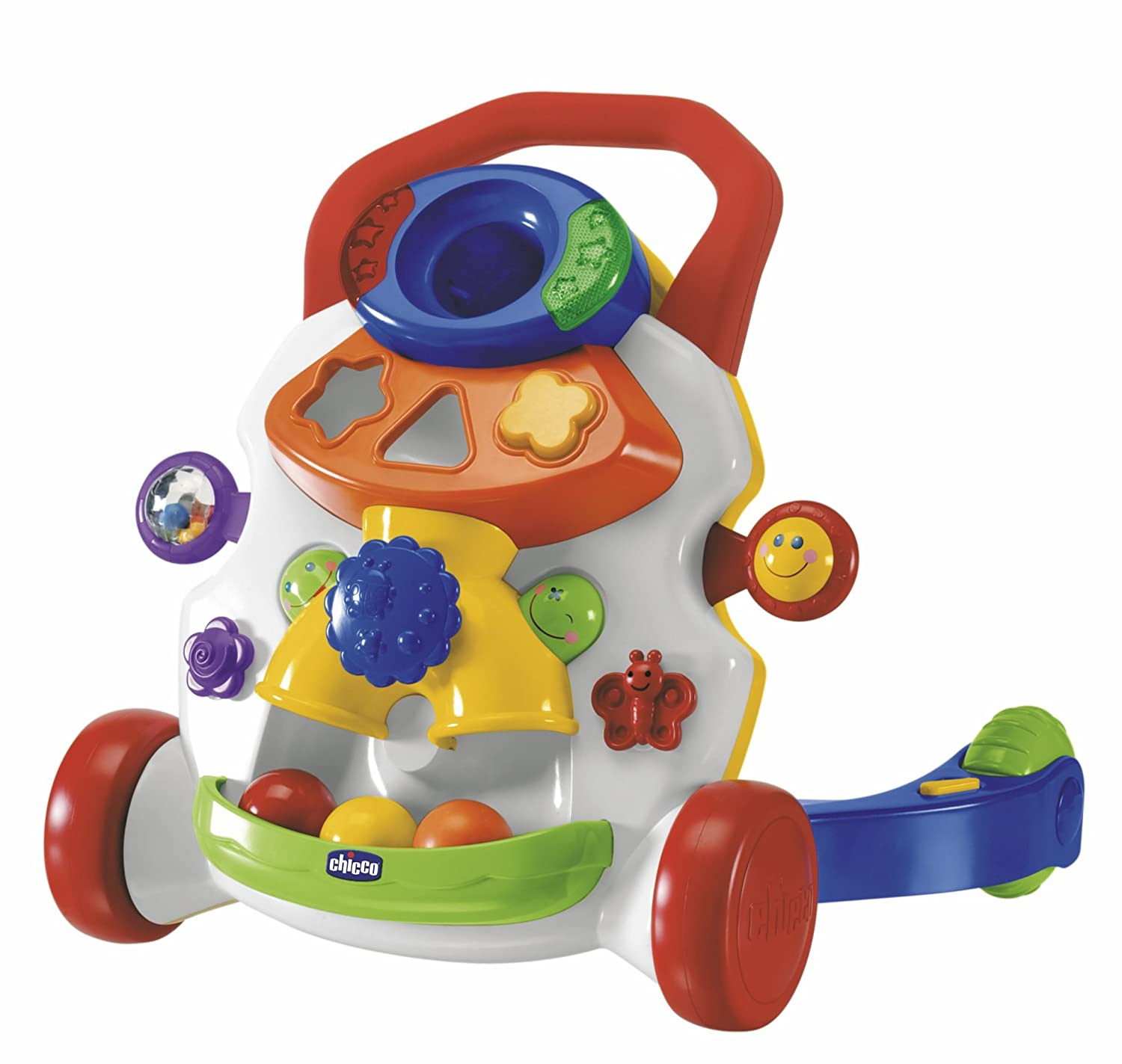 Chicco Baby Steps Activity Walker - Multi-Coloured 00065261200010