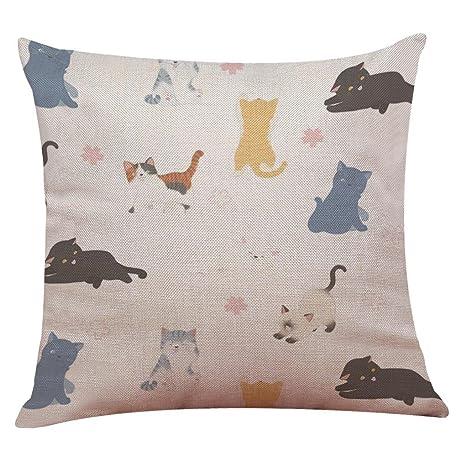 fundas almohadas 43cm para almohadas de viaje de gatos ...