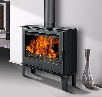 delaflam pb1015 estufa para madera (acero Potencia 10 A 11 KW: Amazon.es: Bricolaje y herramientas