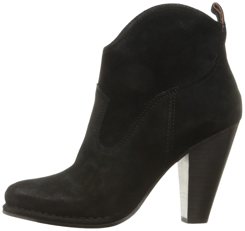 FRYE Women's Madeline Short Suede Boot B01A2SKP68 11 B(M) US Black