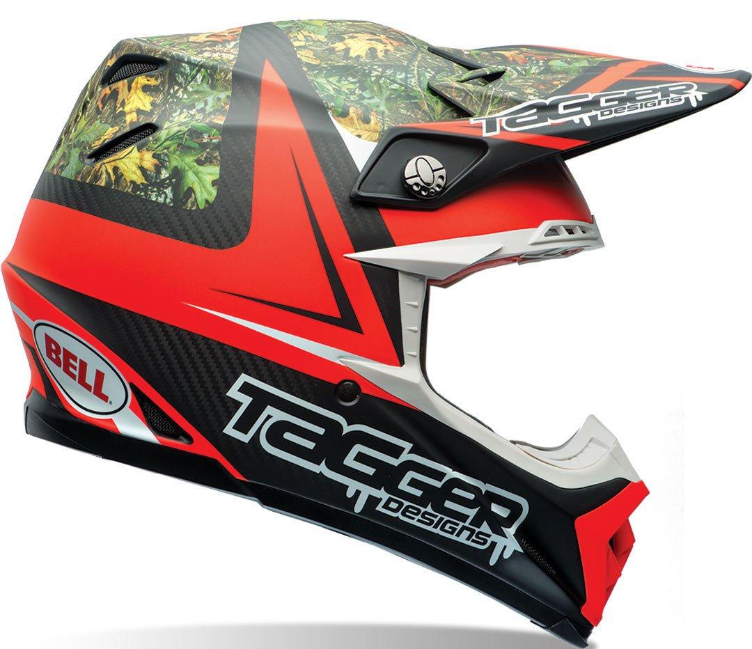 BELL Moto-9/Carbone Flex Tagger Rekluse Casque Cross