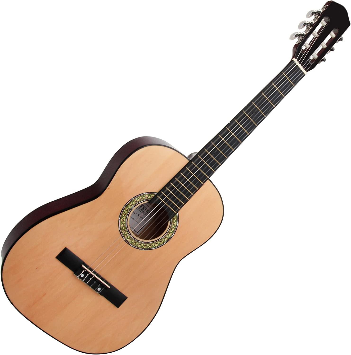 Classic Cantabile AS-851 guitarra de concierto 7/8 Set: Amazon.es ...