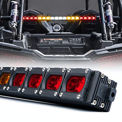 "Xprite 30"" Offroad Rear Chase LED Strobe Light Bar for UTV ATV Side by Side Polaris RZR XP 1000 Quad Sand Dune Buggy - RX Series RYWYR: Automotive"