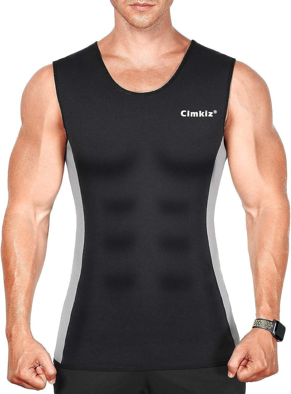 Novecasa Vest Sauna man neoprene sweat vest Gymnastics for Sweat Burn the