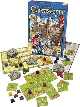 Devir - Carcassonne, Juego de Mesa: Amazon.es: Juguetes y juegos