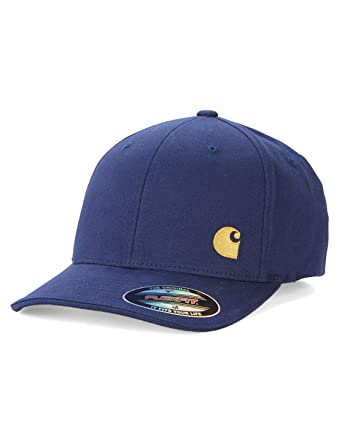 fashion styles great prices detailed images Carhartt WIP Hats Flexfit Match Baseball Cap - Blue MEDIUM ...