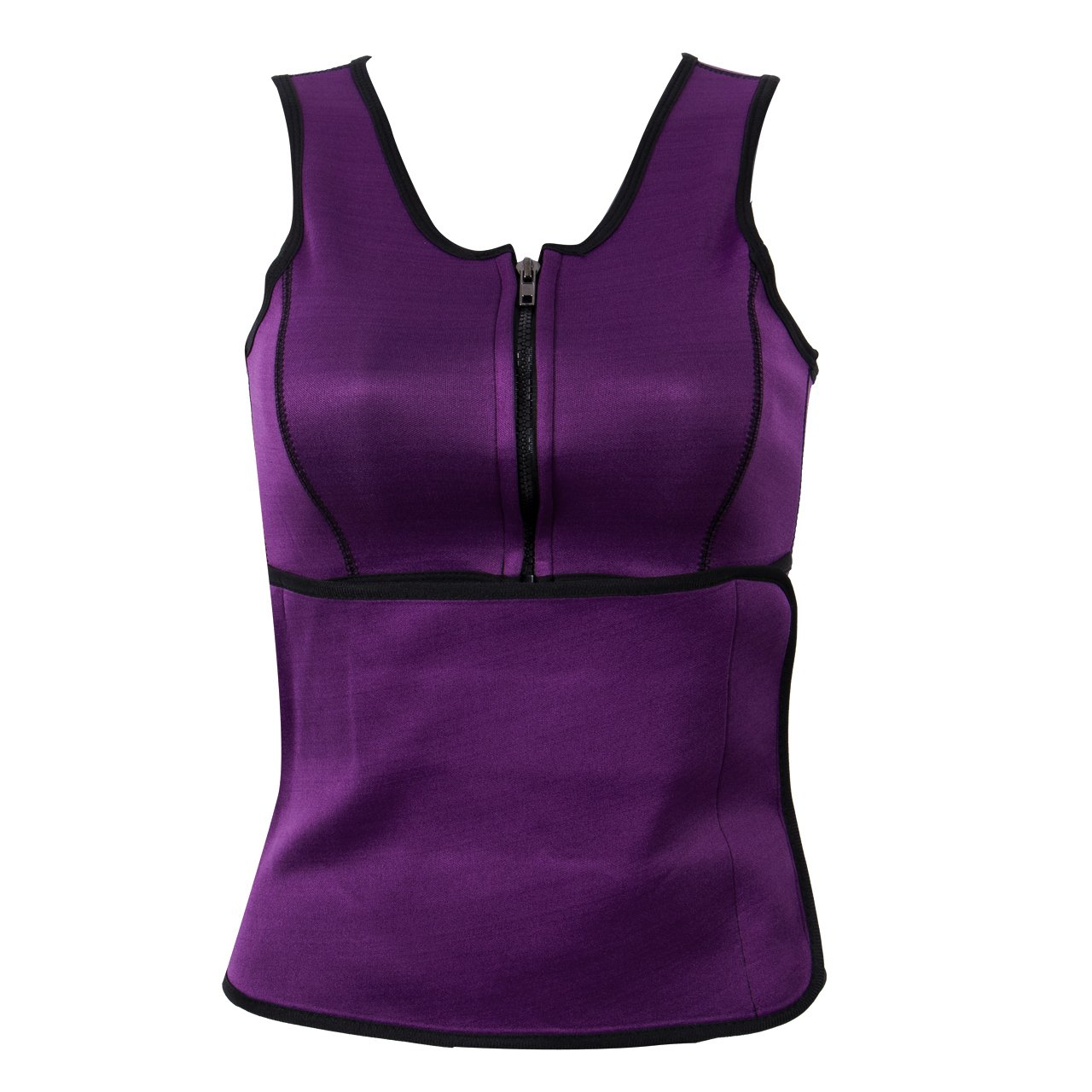 Women Sauna Suit Vest Waist Trainer