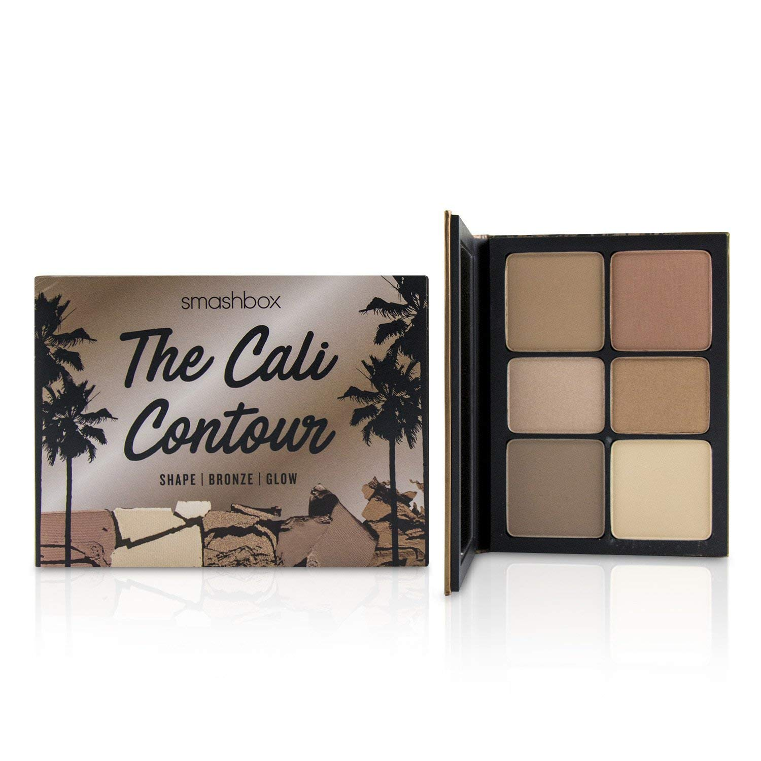 Amazon.com : Smashbox The Cali Contour (Shape/Bronze/Glow) Pallet ...