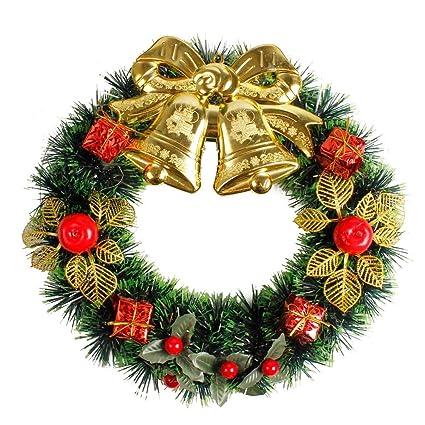 Amazon.com : Icocol Christmas Boutique Wreath 14 inch, Beautiful DIY ...