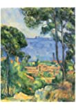 Paul Cezanne (View of L'Estaque and Chateaux d'If (The Sea at L'Estaque)) Art Poster Print 13 x 19in