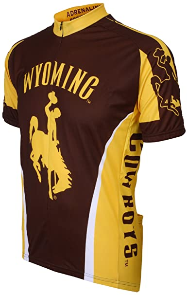 new product ac5e9 a3a1f NCAA Wyoming Cowboys Cycling Jersey