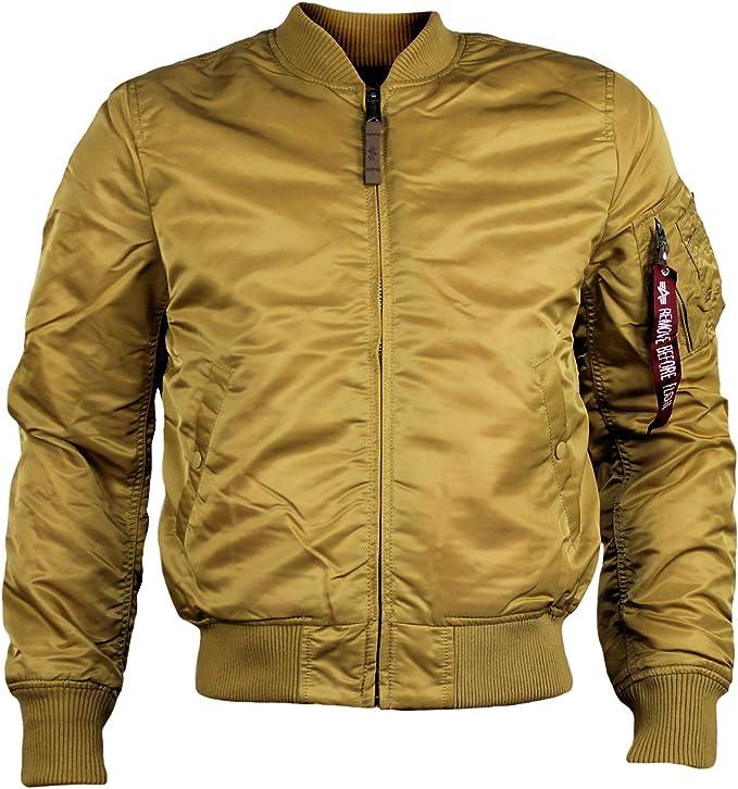 Alpha Industries Bomberjacke MA 1 VF 59 Gold: