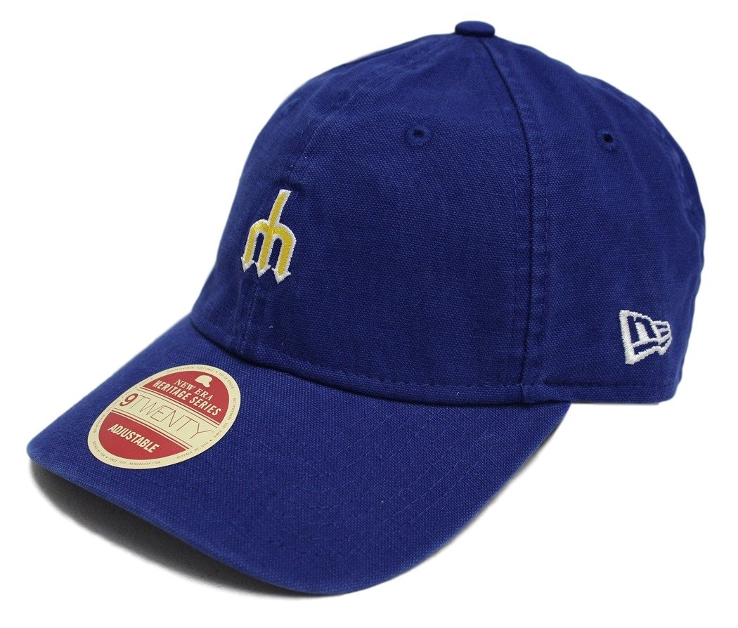 check out f04f8 2b0e6 Amazon.com   New Era Seattle Mariners Micro Squad Adjustable Hat Cap    Sports   Outdoors