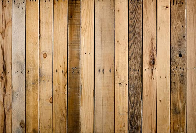 Laeacco 8x6ft Vintage Grunge Old Wood Plank Background Countryside Vinyl Photography Backdrop Nostalgia Rustic Wood Texture Wall Backdrop Newborn Baby Shower Children Birthday Party Cake Smash Decors