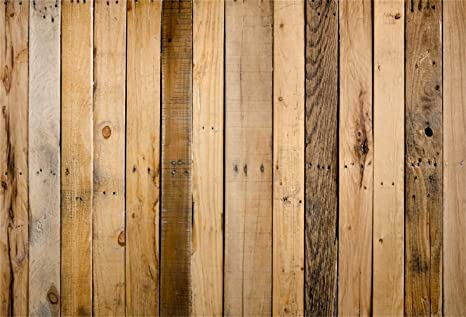 Laeacco 10x7ft Countryside Old Wood Plank Background Rustic Vinyl Photography Background Grunge Nail Marks Shabby Vertical Striped Wooden Board