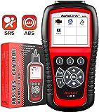 Autel Autolink AL619 OBD2 Scanner ABS SRS Airbag Warning Light Scan Tool, Turn Off Check Engine Light Car Diagnostic…