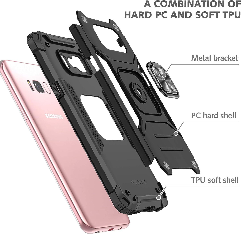 Dasfond Armor Hülle Kompatibel Mit Samsung Galaxy S8 Elektronik
