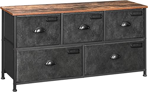 SONGMICS Fabric Drawer Dresser