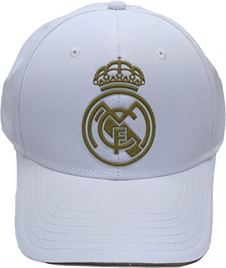 Real Madrid FC Rm3Go19 Adultos Unisex, Blanco/Oro: Amazon.es ...