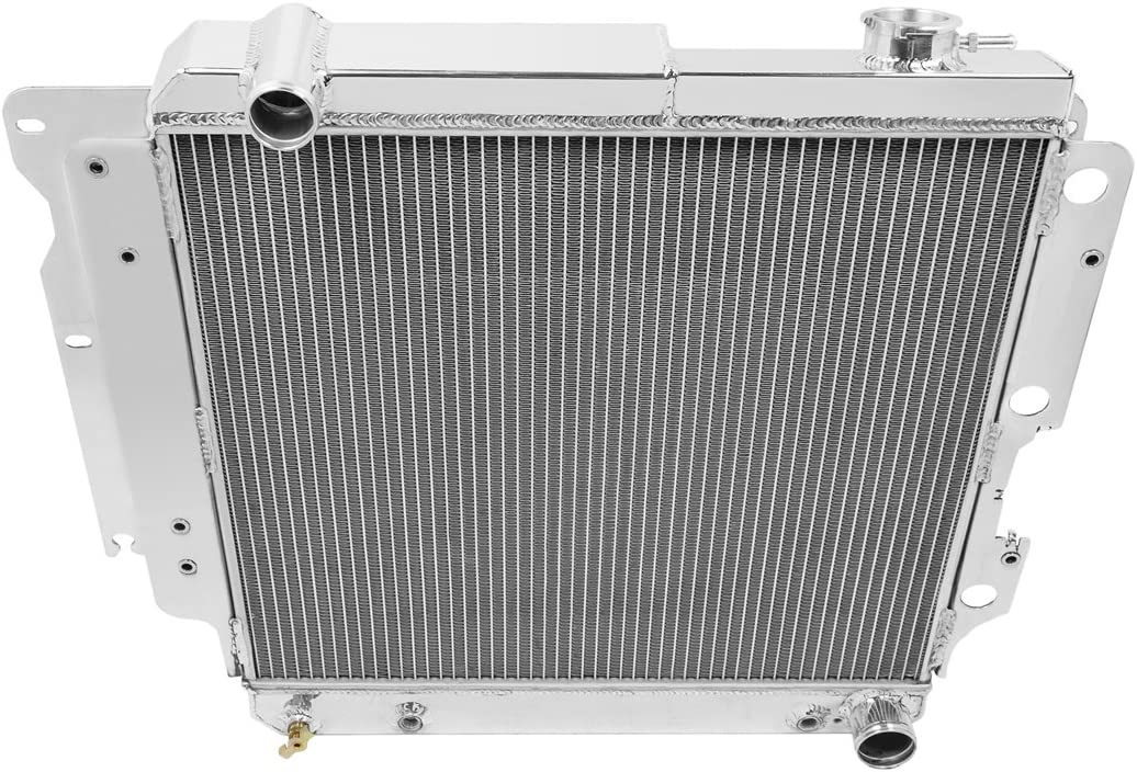 Champion Cooling, Jeep Wrangler YJ Chevy Config 3 Row All Alum Radiator, CC8101