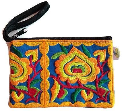 Amazon.com: PunPund - Cartera con diseño de Hmong étnico ...