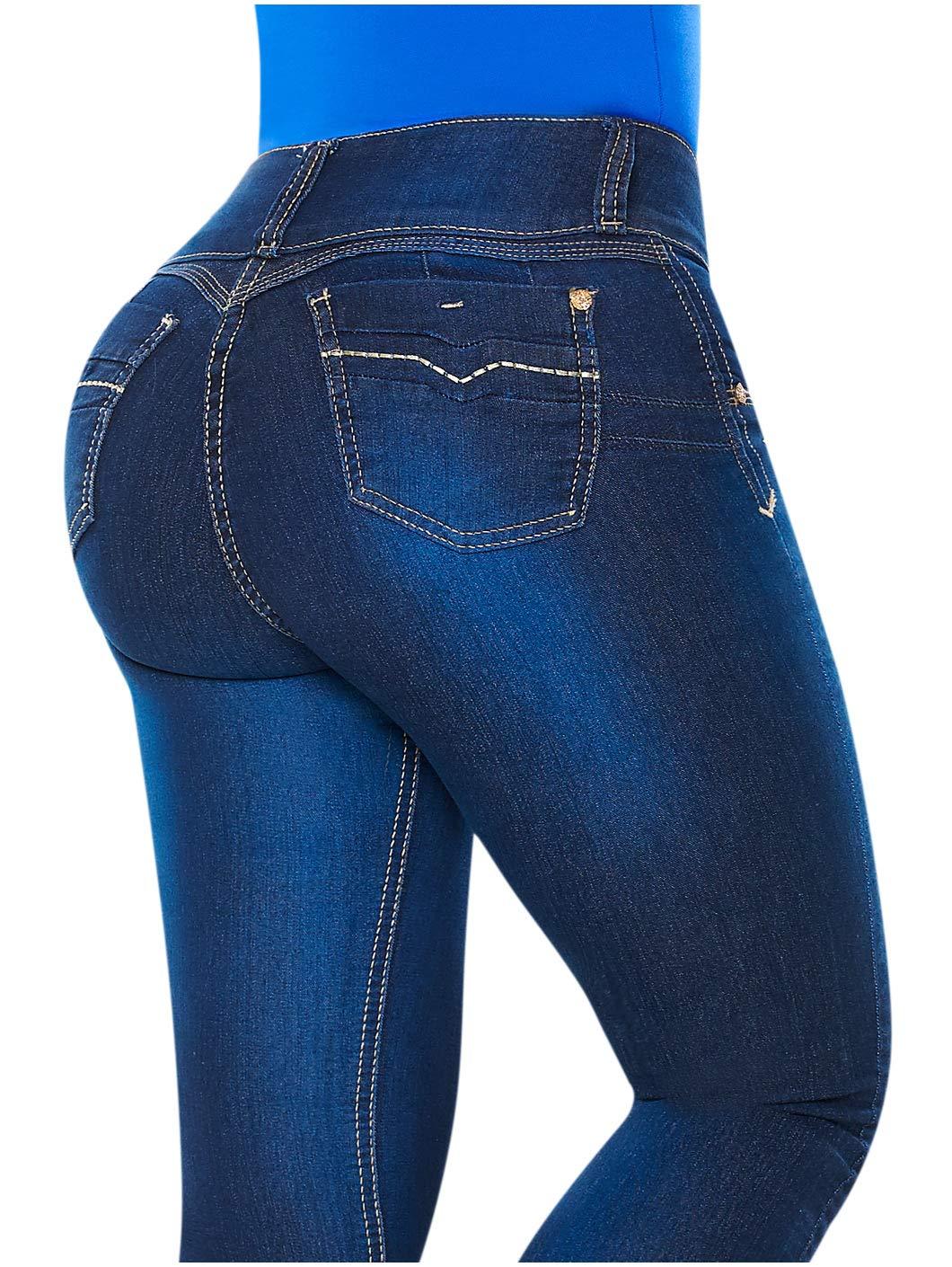 c40b95292b4 Galleon - LT.Rose High Rise Skinny Jeans For Women
