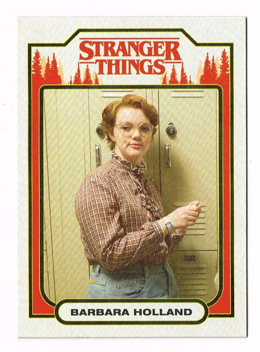 2018 - Stranger Things - Character Card - # ST-12 - Barbara Holland - Topps - Series 1 - One - Trading Card - Shannon Purser