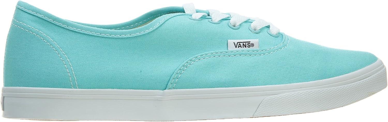 Vans Unisex Authentic Lo Pro Aqua Splash True White Skate Shoe 5 Men US 6.5 Women US