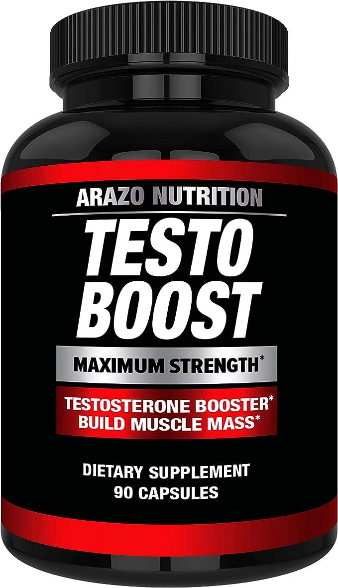 Arazo Nutrition TESTOBOOST Test Booster Supplement