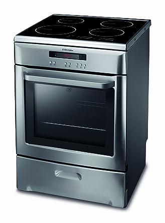 bas prix 24fa9 d4160 Electrolux EKD607702X Cuisinière 60 x 60 cm 4 Foyers ...