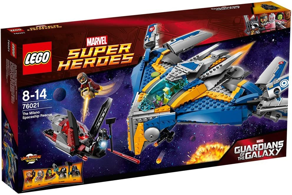 LEGO Marvel Super Heroes Guardians of the Galaxy The Milano Spaceship Rescue