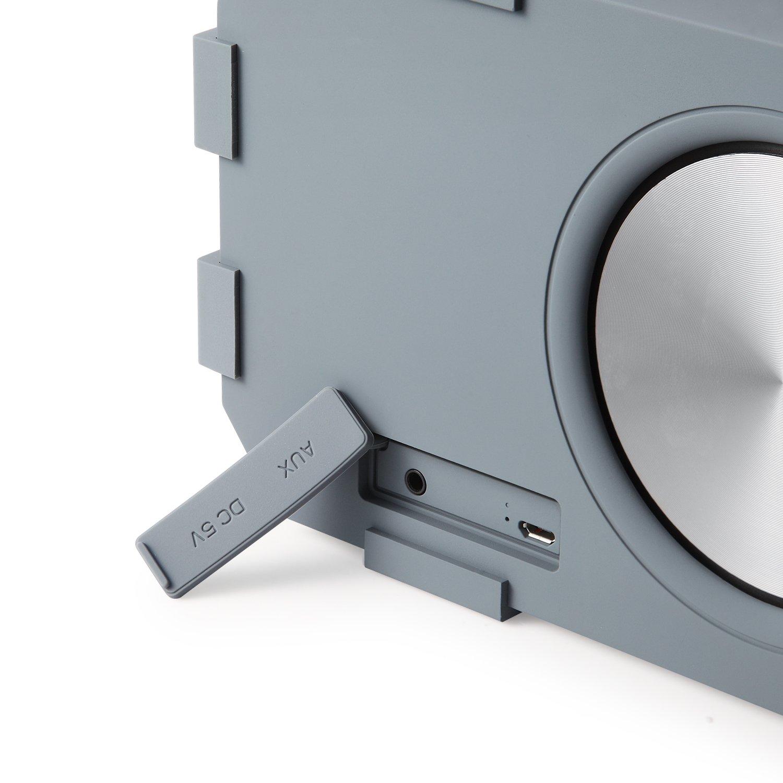 Zoook Rocker Torpedo Bluetooth Speaker Grey Electronics Us Blaster Products Car Audio Wiring Kits Usb 6128