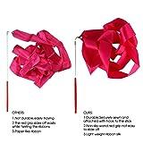 Binen 12 Pieces Dance Ribbons Streamers Rhythmic