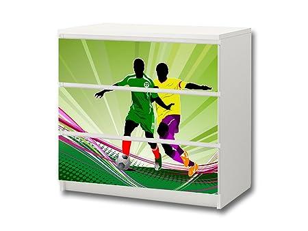 Fútboll pegatina de muebles | M3K12 | Pegatinas adecuadas para la ...