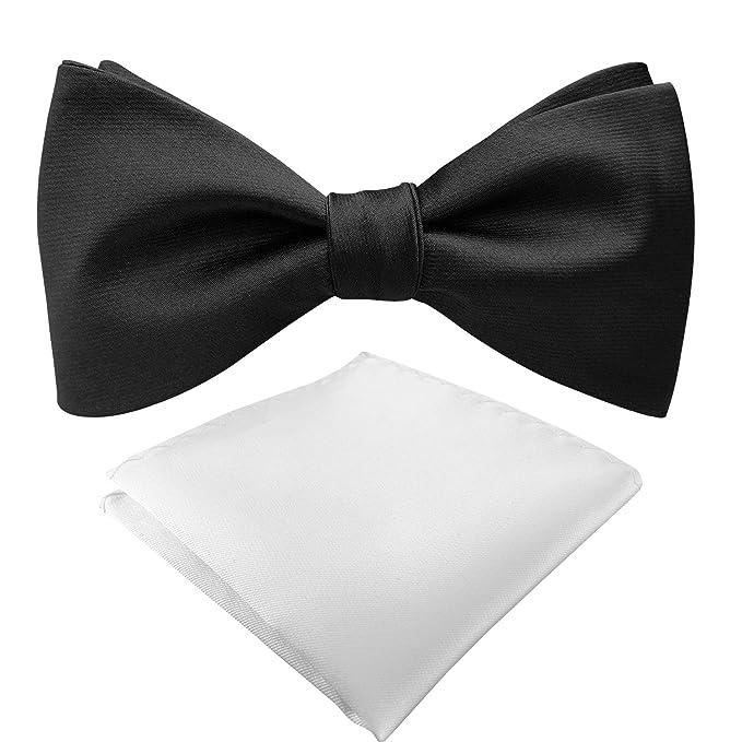 Amazon.com: Juego de pajarita y pañuelo para hombre ...