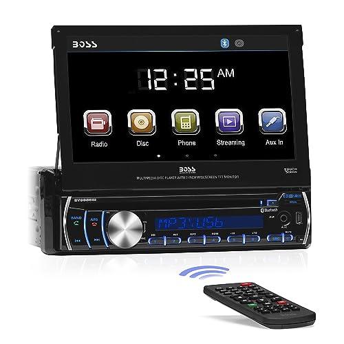 BOSS Audio BV9986BI - In-Dash, Single DIN, Bluetooth, DVD/CD