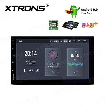 XTRONS - Radio para Coche con Pantalla táctil de 7