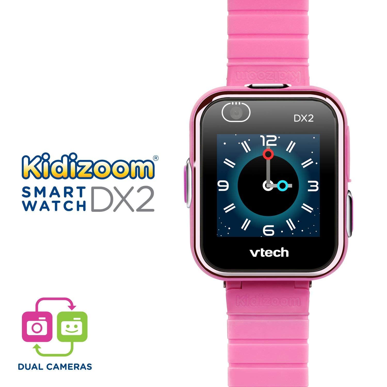 VTech Kidizoom Smartwatch DX2, Pink (Renewed)