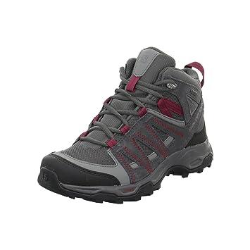 Salomon Trekking- & Wanderstiefel Ravenrock Mid Gtx? W 0 Magnet/quiet Shade/tibetan R 5,5