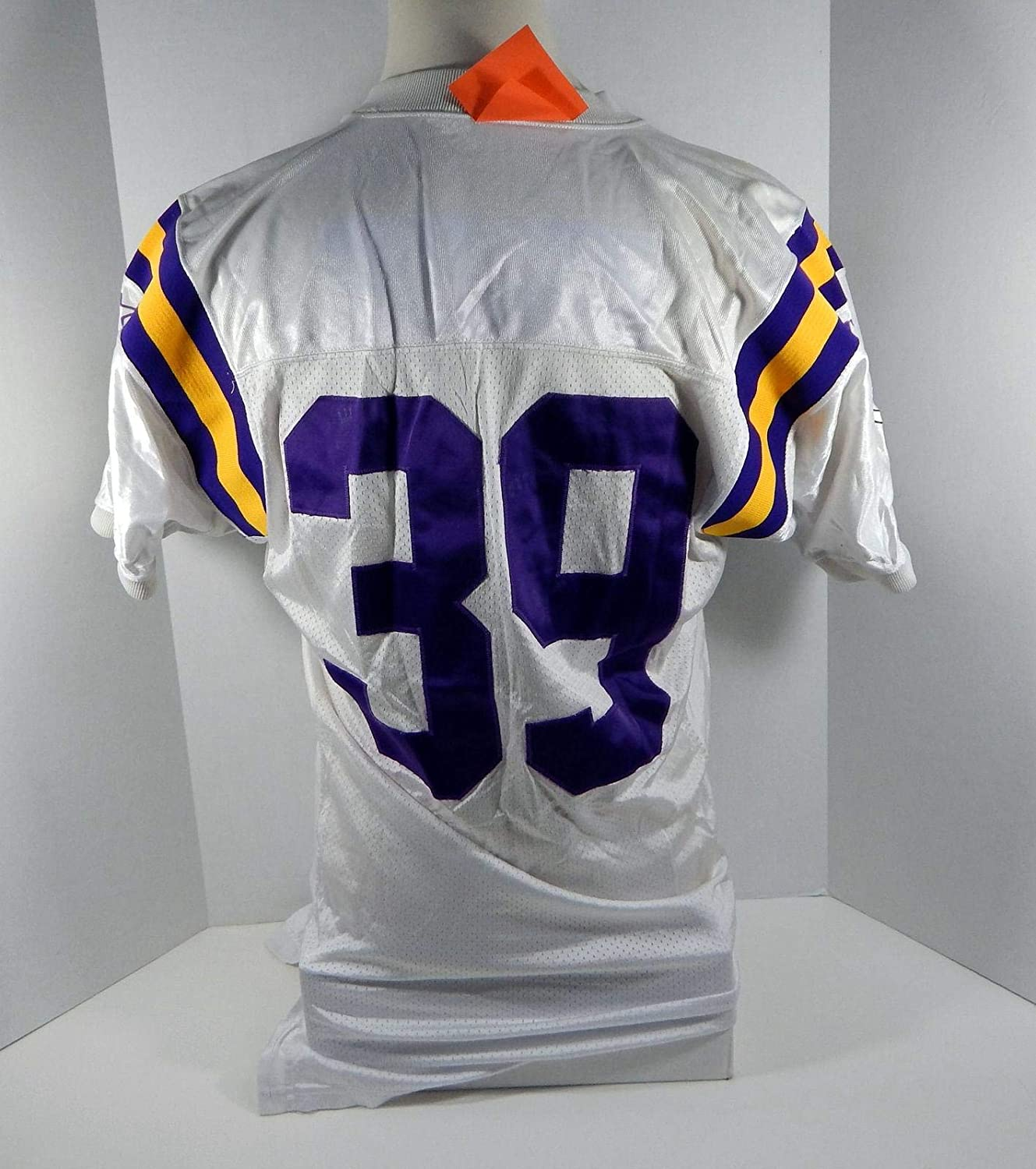 9067d8411 1997 Minnesota Vikings  39 Game Issued White Jersey - Unsigned NFL Game  Used Jerseys at Amazon s Sports Collectibles Store