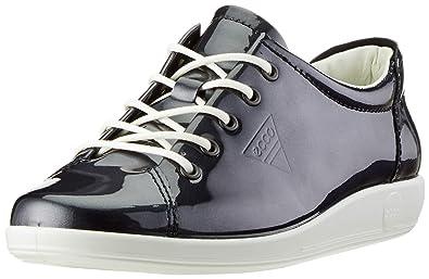 ae10f1b53098 ECCO Women s Soft 2.0 Low-Top Sneakers  Amazon.co.uk  Shoes   Bags