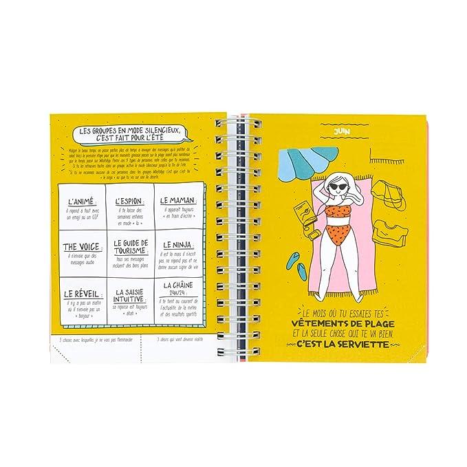Mr. Wonderful Sketch 2019-2020 - Agenda Diaria con Texto en ...