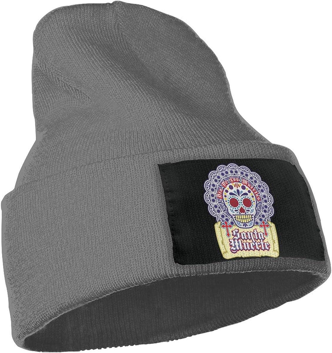 Pattern Cross Skull Warm Winter Hat Knit Beanie Skull Cap Cuff Beanie Hat Winter Hats for Men /& Women