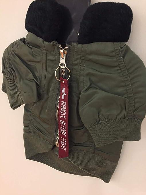 Kup online niesamowite ceny nowa wysoka jakość Amazon.com : Alpha Industries Army/Navy Dog Coat with Faux ...