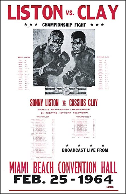 43132bc7 Amazon.com: Sonny Liston vs. Cassius Clay 14